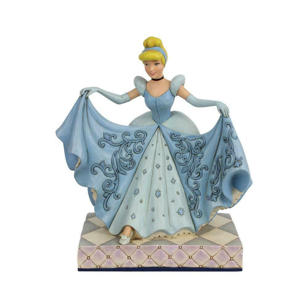 "8.2"" Cinderella Transformation Figurine by Jim Shore Disney Traditions"