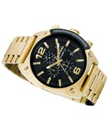 Diesel Men's Overflow DZ4342 Gold Tone Stainless-Steel Quartz Chronograp... - £134.71 GBP