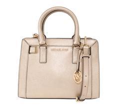 Pale Gold DILLON Leather Satchel Bag - $238.50