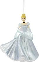 Hallmark Disney Princess Cinderella Blown Glass Christmas Ornament New with Tag - $9.99