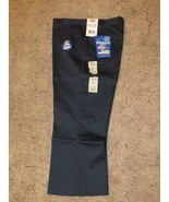 "DICKIES Girls Junior School Uniforms Capri Sz 9 Boot Cut Waist 32"" x Ins... - $14.80"