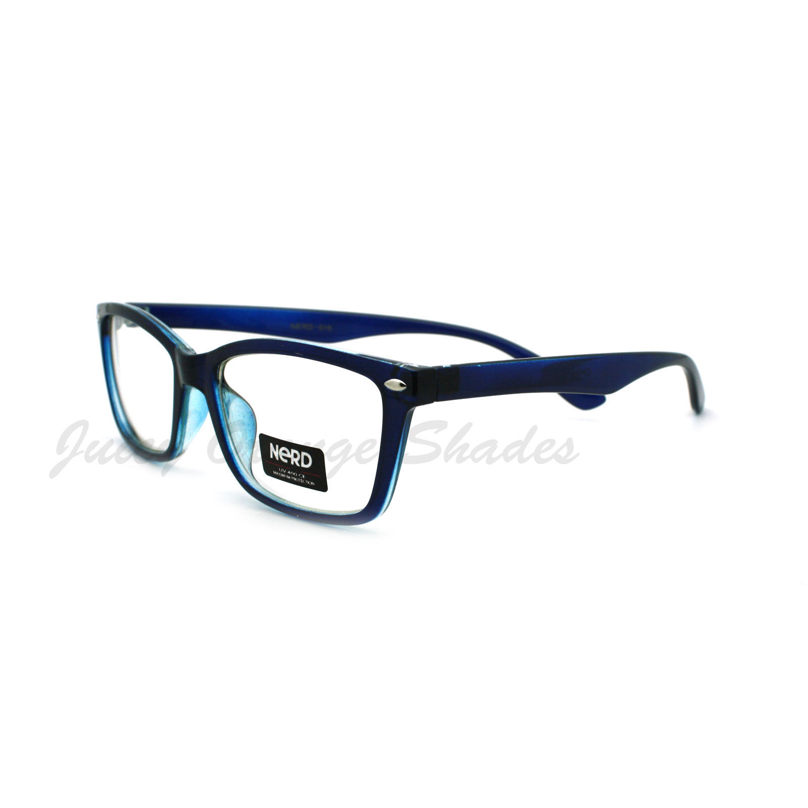 Clear Lens Optical Frame Eyeglasses Designer Rectangular Glasses