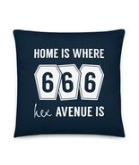 Witch Pillow, Gothic Pillow, Hex Pillow, Halloween Pillow, 666, Coffins, Horror - €27,77 EUR - €33,67 EUR