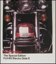 1978 Harley Davidson Electra Glide, FLH-80 Brochure Original Xlnt Motorc... - $15.80