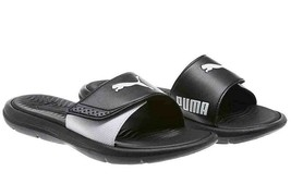 Puma Womens Surfcat Slide Slip-on Sandal Beach Shoe Black Size US 7 - $18.69
