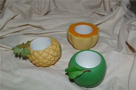 PartyLite Splash Votive Holders Fruit Party Lite - $9.99