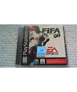FIFA: Road to World Cup 98 (Rare, Complete) (Sony PlayStation 1, 1997) - $19.25