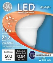GE Lighting 20453 Energy Smart LED 7-watt 470-Lumen RS20 Indoor Flood Light,... - $8.07