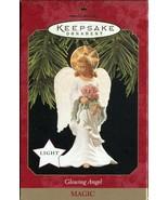 1997 New in Box - Hallmark Keepsake Christmas Ornament - Glowing Angel - $4.00
