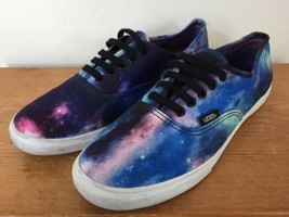 Vans Off The Wall Low Profile Cosmic Galaxy Stars Sneakers Mens 6.5 Wome... - £24.73 GBP