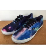 Vans Off The Wall Low Profile Cosmic Galaxy Stars Sneakers Mens 6.5 Wome... - $34.99