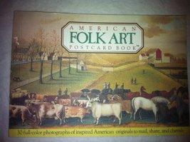 American Folkart Postcard Book Running Press - $58.98