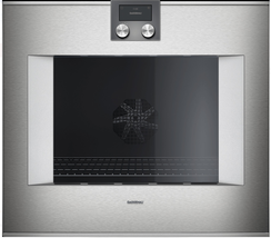 "Gaggenau BO480613 400 Series 30"" Smart Electric Wall Oven Right Hinge St... - $4,945.10"