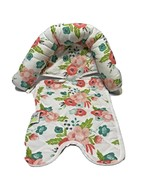 Go by Goldbug Floral Duo Car Seat Head Support Newborn Infant Baby Clean - $10.62