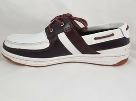 NIB TIMBERLAND BRRTO NAUT CASUAL RUBBER CLASSIC MEN'S SHOES LEATHER BRGWTE - $53.99