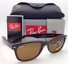 New Ray-Ban Sunglasses NEW WAYFARER RB 2132 710 55-18  Havana Frame / Brown Lens