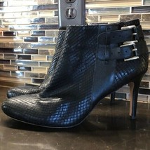 Ann Taylor faux snake belted boots - $53.46