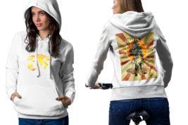 egyptian gods anubis Womens White Classic Hoodie - $30.99+