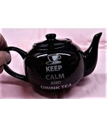 'Keep Calm & Drink Tea' 1 Cup Teapot by The Old Pottery Company - $14.80