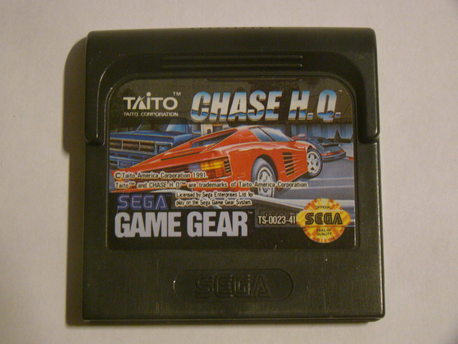 SEGA GAME GEAR - CHASE H.Q. (Game Only)