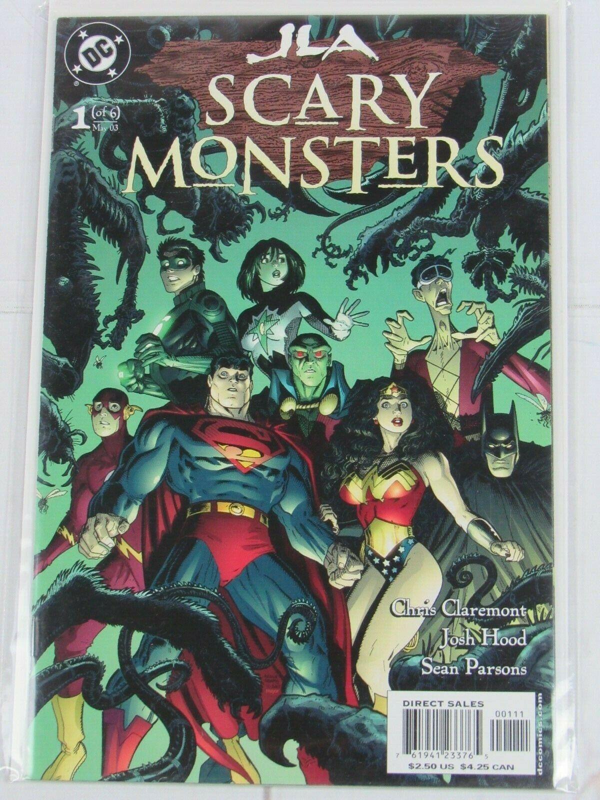 JLA Scary Monsters #1 DC Comics 2003 - C4960