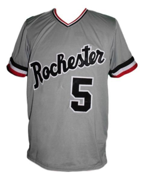 Cal ripken rochester red wings baseball jersey grey   1