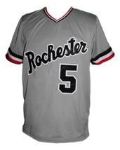 Cal Ripken Rochester Red Wings Baseball Jersey Grey Any Size image 1