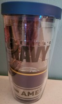 Tervis Navy Forever Proud Wrap With Travel Lid 16 oz NEW - $17.35