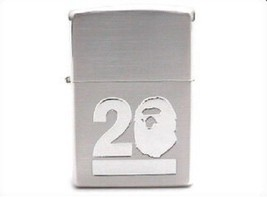 "Rare! ZIPPO 2013 Limited Model ""A Bathing Ape"" Bape 20th Anniversary Lig... - $220.00"