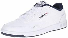 Men Reebok Club Memt Classic Shoes Sneaker V67513 White Navy Brand New  - $54.99