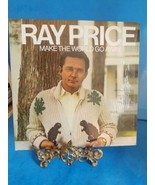 RAY PRICE - MAKE THE WORLD GO AWAY - HARMONY BL 30272 - LP Record VG+ - $11.29