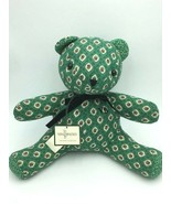 NWT Vera Bradley Kelly Greenfield Plush Teddy Bear Floral Vintage Stuffe... - $24.99
