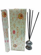 Hem Vitality Incense Sticks Indian Natural Fragrance Agarbatti 12 Packs - $19.79