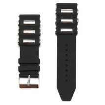 Silicone Rubber Diver Watch Band Strap For Invicta Excursion 18202 Black 26mm - $18.99