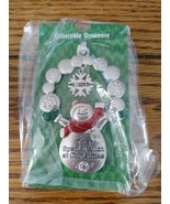 """Ganz Christmas Snowman Ornament 2020 """"To a Special Aunt at Christmas"""" New - $29.65"""