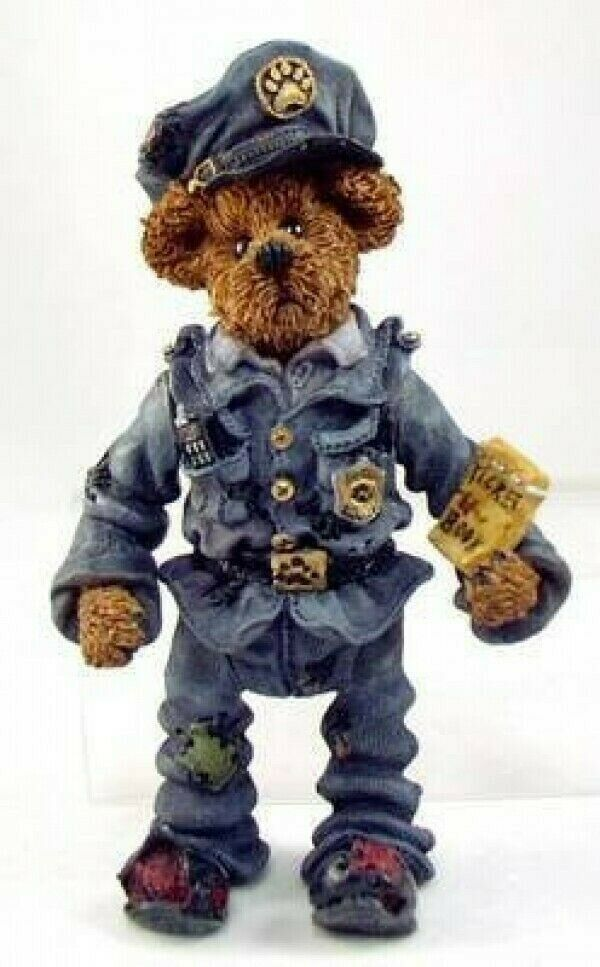 "Primary image for Boyds Shoe Box Bear ""Sergeant Bookum O'Reilly""  4.5"" Bear- #3214- Retired"
