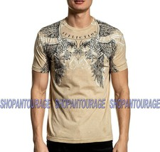 Affliction Talons Out A20459 Short Sleeve Fashion Graphic T-shirt Top For Men - $45.88