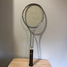 Rare Vintage Collectible Victor Davis Metal Tennis Racket Made in USA - $25.15