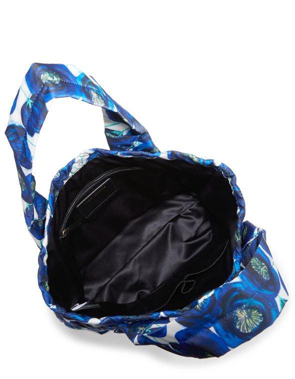 af2351b48 Marc Jacobs New York M0013282 Floral Nylon Tote Blue Multi MSRP $225