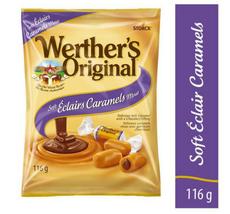 Werther's Original Soft Éclair Caramel Candy (116 g) - FROM CANADA - $13.58