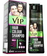 VIP 5 in 1 Hair Colour Shampoo base hair color (180 ml) fs - $20.78