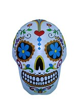 BZB Goods 4 Foot Halloween Inflatable Colorful Sugar Skull Decoration - $79.30