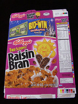 Kellogg's Raisin Bran 2003 Disney World - $16.99