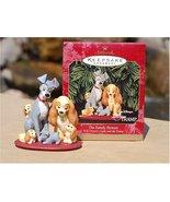 Baby Cakes 1999 Hallmark Keepsake Ornament Lady & the Tramp the Family P... - $38.13