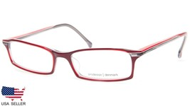 NEW PRODESIGN DENMARK 4620 c.4132 RED EYEGLASSES FRAME 53-17-135  B25mm ... - $98.98