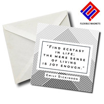 Emily Dickinson Inspirational Quote Magnet for refrigerator. Great Gift - $5.92