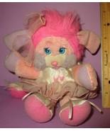 "Vintage Popples Mattel 12"" 1987 Pink Costume Ballerina Ballet Plush Stuf... - $100.00"