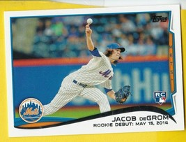 JACOB DEGROM 2015 TOPPS UPDATE US-57 NEW YORK METS ROOKIE CARD  - $6.78