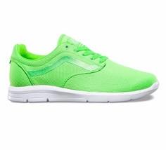 VANS ISO 1.5 Gecko Green UltraCush Trainer Skate Shoes WOMEN'S Shoes 7 - $47.95