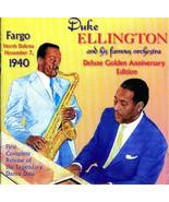 DUKE ELLINGTON & HIS ORCHESTRA Fargo North Dakota Nov 7, 1940 CD 2-Disc ... - $21.03